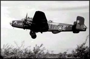 Handley Page Halifax aircraft
